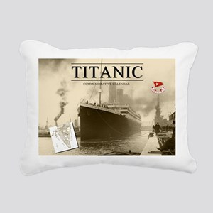Calendar-Cover-Standard Rectangular Canvas Pillow