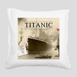 Calendar-Cover-Standard Square Canvas Pillow