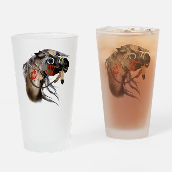 War Horse Trans Drinking Glass