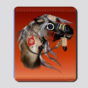 THROW BLANKET War Horseb Mousepad