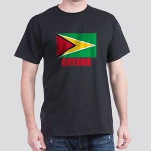 Guyana Flag Dark T-Shirt