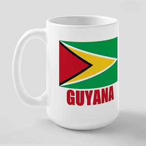 Guyana Flag Large Mug