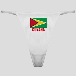 Guyana Flag Classic Thong