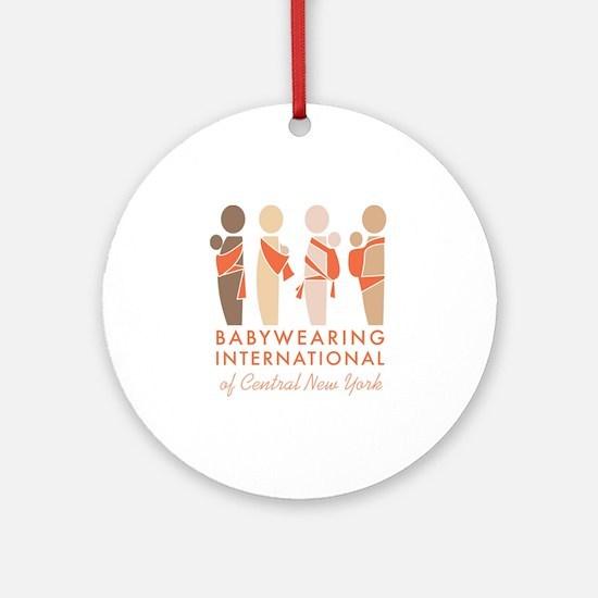 Babywearing International of CNY Lo Round Ornament