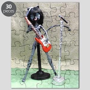 Monster High OOAK 3LK (Three Little Kittens Puzzle