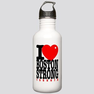 I Heart Boston Strong  Stainless Water Bottle 1.0L