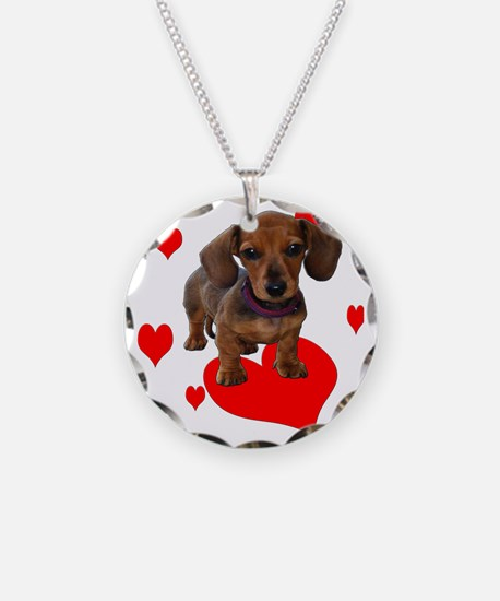 Love Dachshunds Necklace