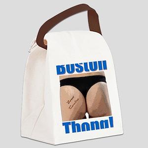 Boston Thong! Canvas Lunch Bag
