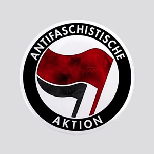"Antifa Logo 3.5"" Button"