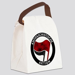 Antifa Logo Canvas Lunch Bag