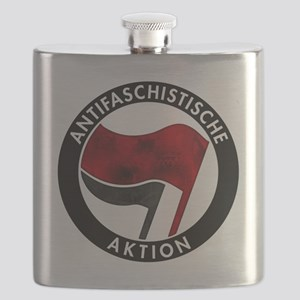 Antifa Logo Flask