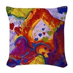 The Power of Love Woven Throw Pillow