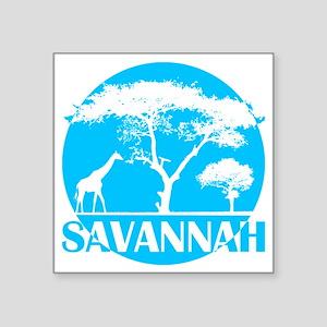 "lbl_sava Square Sticker 3"" x 3"""