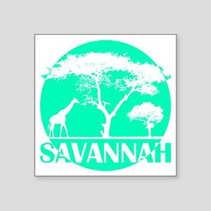 "wt_s_sava Square Sticker 3"" x 3"""