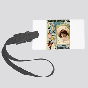 Waites Comedy Co - Courier - 1899 Luggage Tag