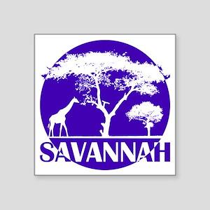 "hg34_sava Square Sticker 3"" x 3"""
