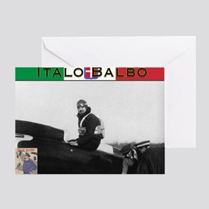 Italo Balbo Greeting Card