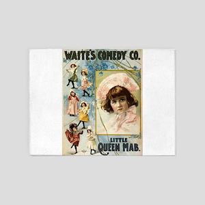 Waites Comedy Co - Courier - 1899 5'x7'Area Rug