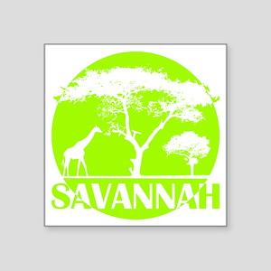 """wt_tt_sava Square Sticker 3"""" x 3"""""""