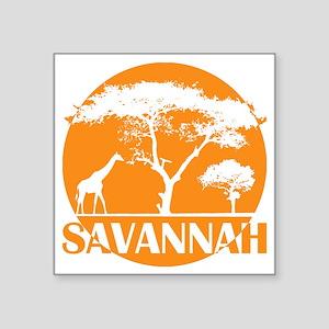 "gnt34_sava Square Sticker 3"" x 3"""