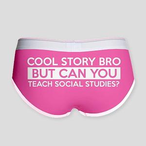 Social studies teacher jobs Women's Boy Brief