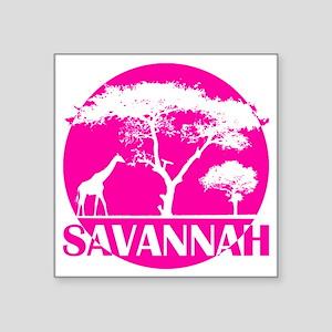 """wt_j_sava Square Sticker 3"""" x 3"""""""