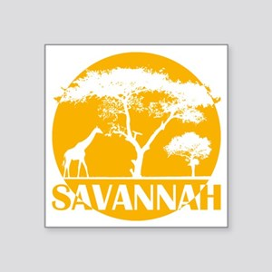 "hg_s_sava Square Sticker 3"" x 3"""