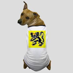 Lion of Flanders Dog T-Shirt