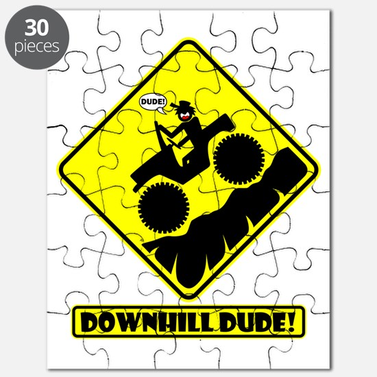 Downhill DUDE Road Signs Puzzle