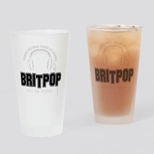Britpop And The Others Drinking Glass