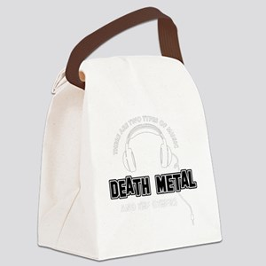 Death Metal And The Others Canvas Lunch Bag