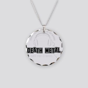 Death Metal And The Others Necklace Circle Charm