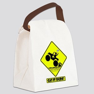 GAS IT Road Signs Canvas Lunch Bag
