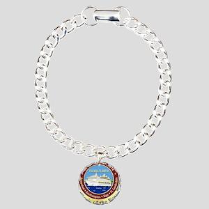 Oasis Logo Only Charm Bracelet, One Charm