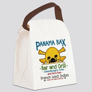 Panama Bax Bar and Grill 2 Canvas Lunch Bag
