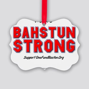 Bahstun Strong Picture Ornament
