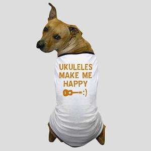 My Ukukele makes me happy Dog T-Shirt