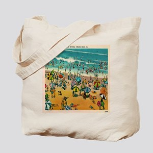 Vintage Virginia Beach Postcard Tote Bag