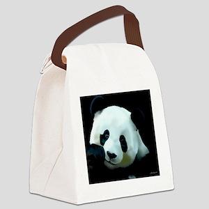 Pandamonium Canvas Lunch Bag