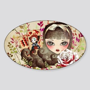 Hidden Garden Sticker (Oval)