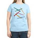 Colorful Clarinets Women's Light T-Shirt