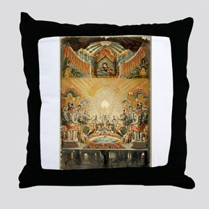 Arabian nights - Courier - 1888 Throw Pillow