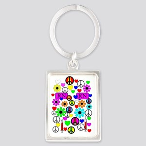 phone 222 Portrait Keychain
