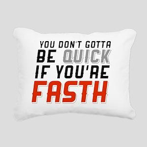 anaheim hockey Rectangular Canvas Pillow