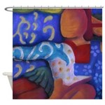 Bridge Inner & Outer Worlds Shower Curtain