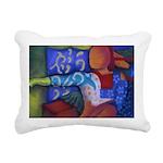 Bridge Inner & Outer Rectangular Canvas Pillow