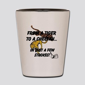From A Tiger To A Cheetah...In Just A F Shot Glass