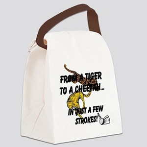 From A Tiger To A Cheetah...In Ju Canvas Lunch Bag