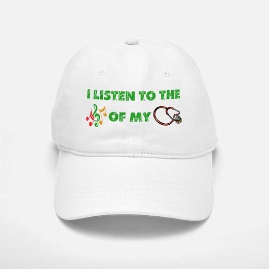 Stethoscope Music Baseball Baseball Cap