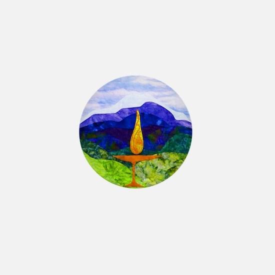 Mountains Chalice Cir Mini Button